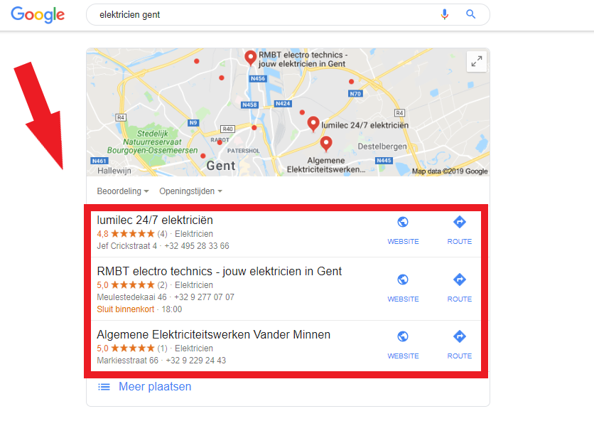 archisnapper_local_pack_hoe_hoog_te_ranken_op_Google