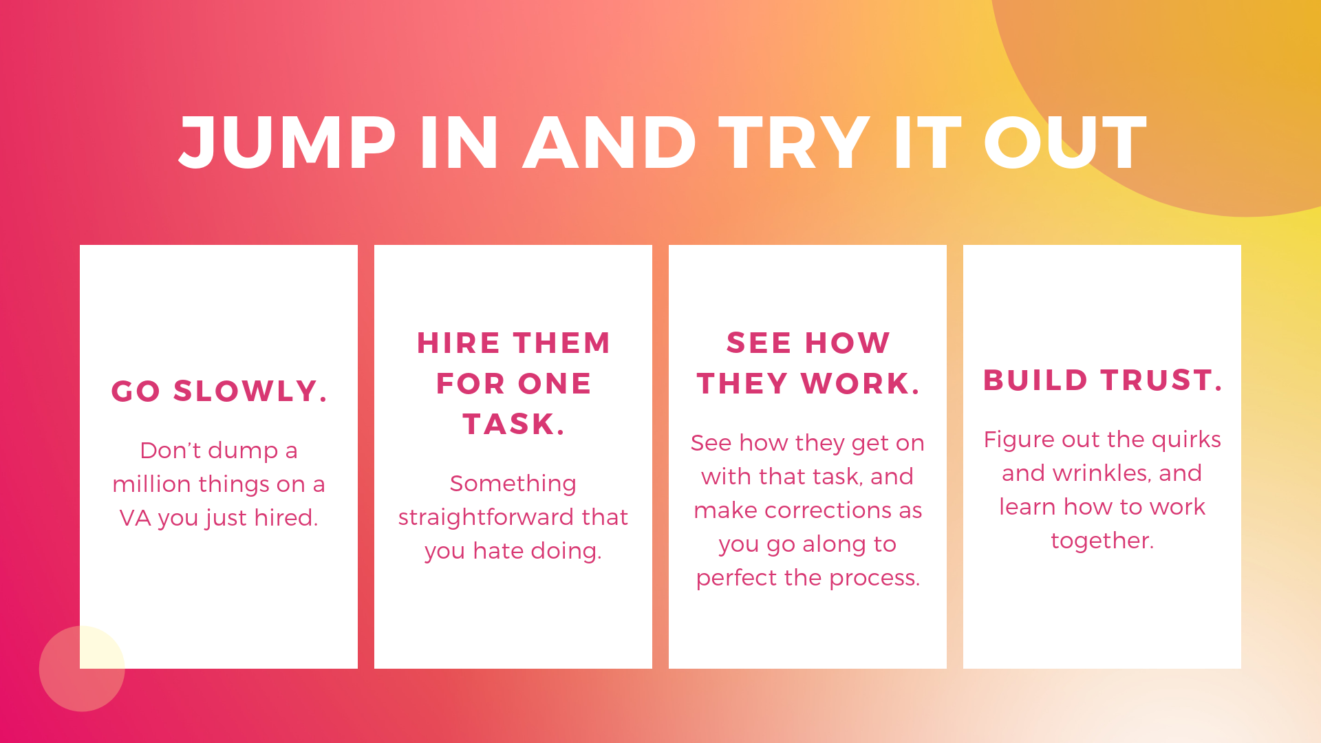 """Just jump in and try out """"A Guide to Hiring a Virtual Assistant for your Architecture or Contracting Business""""   Archisnapper"""
