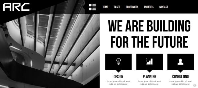 Arc - Responsive Architect Business WP Theme
