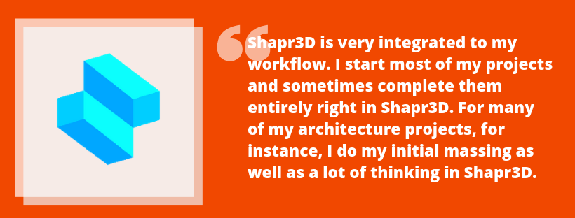 Best Apps for Architects by Archisnapper | Shapr3D