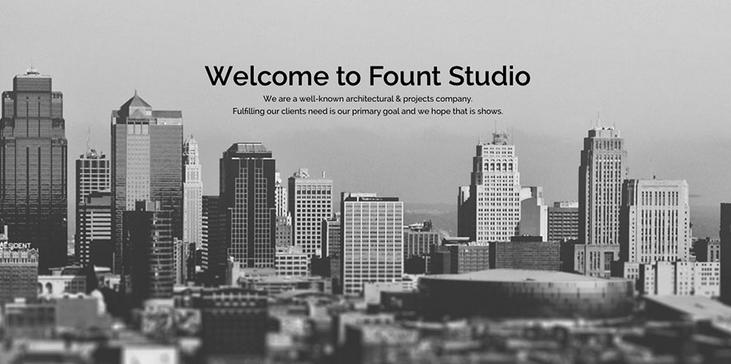 Fount - One & Multipage Hybrid WordPress Theme