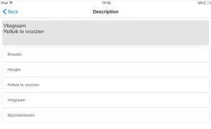 ArchiSnapper App - opmeting met checklijst