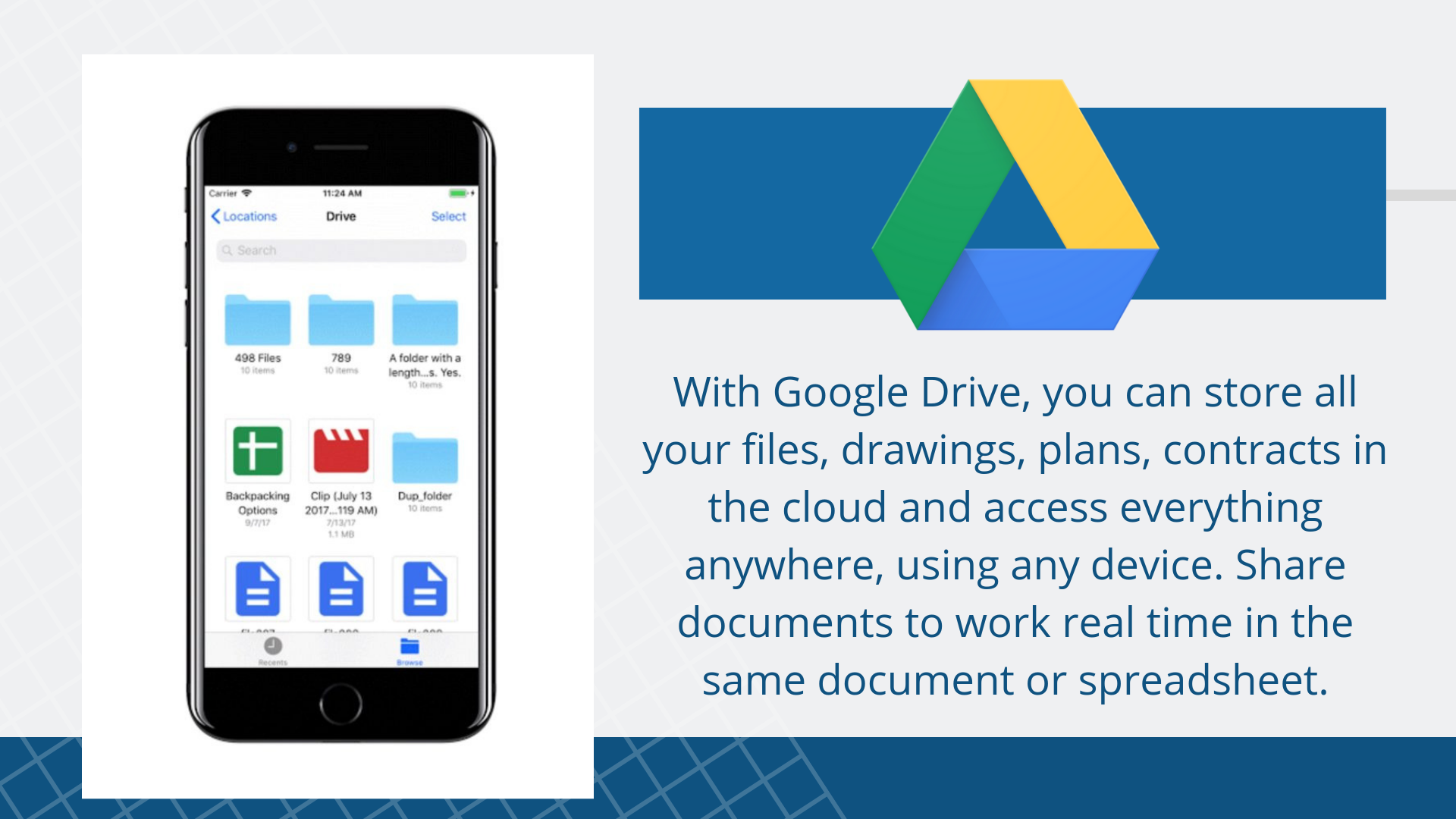 17 Free Construction Apps You Need to Download Right Now | Google Drive App suggested by Archisnapper of Development