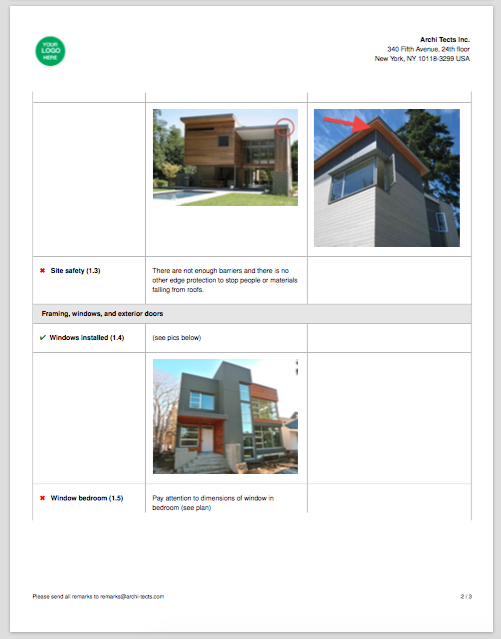 Daily Construction Report Template Observations  Construction Site Report Template