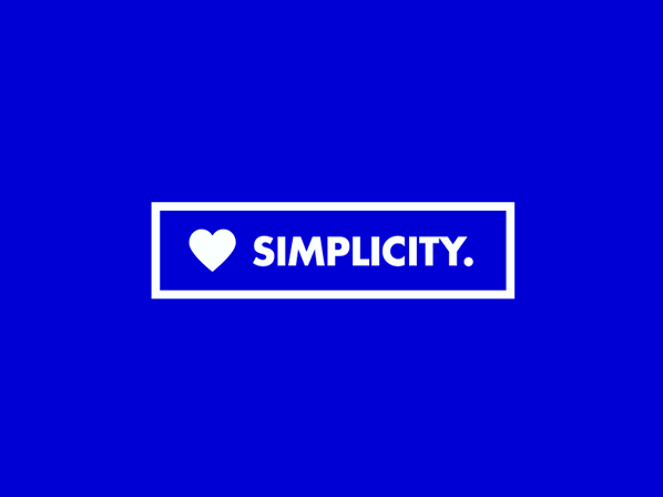 Here's what we believe in at ArchiSnapper: SIMPLICITY