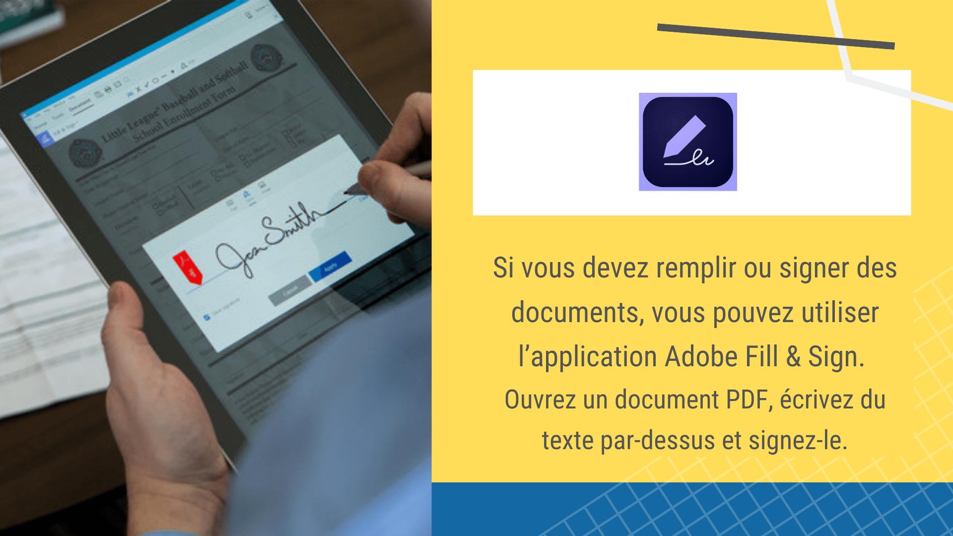 17 Applications de Construction Gratuites - Outils sur votre smartphone | Adobe Fill and Sign via ArchiSnapper