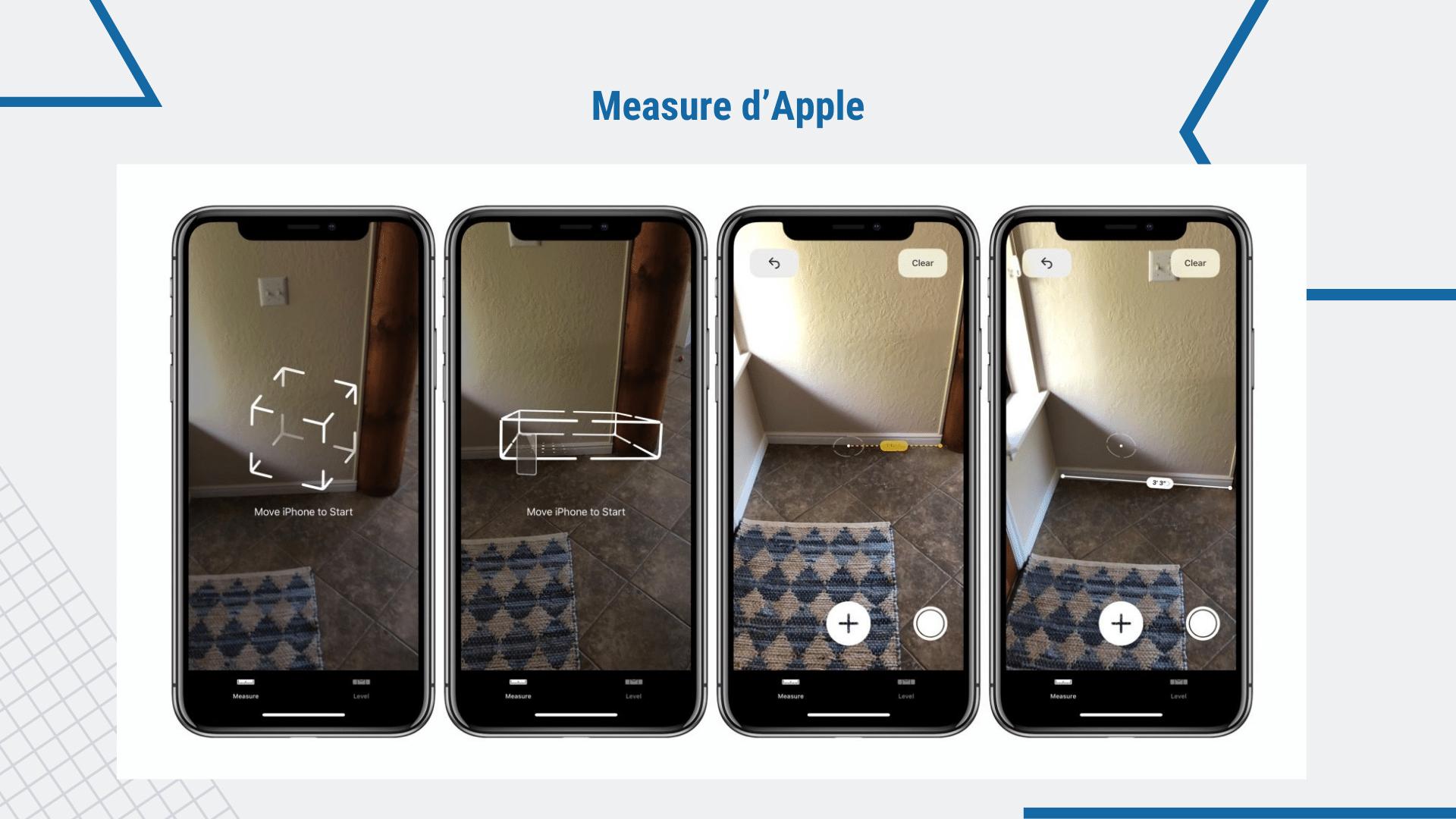17 Applications de Construction Gratuites - Outils sur votre smartphone | Measure d'Apple via ArchiSnapper