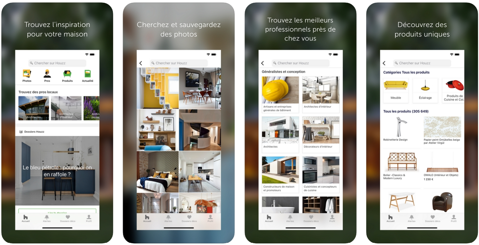 Meilleures applications pour Architectes - houzz
