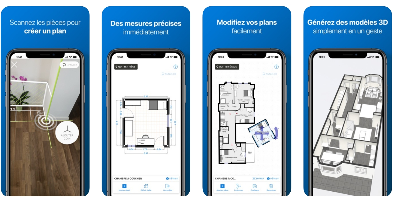 Meilleures applications pour Architectes - magicplan