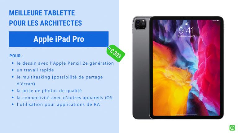 apple ipad pro - Tablettes : le meilleur choix pour les architectes et entrepreneurs