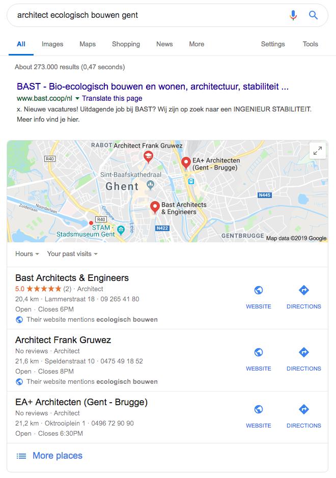 architect ecologisch bouwen archisnapper google