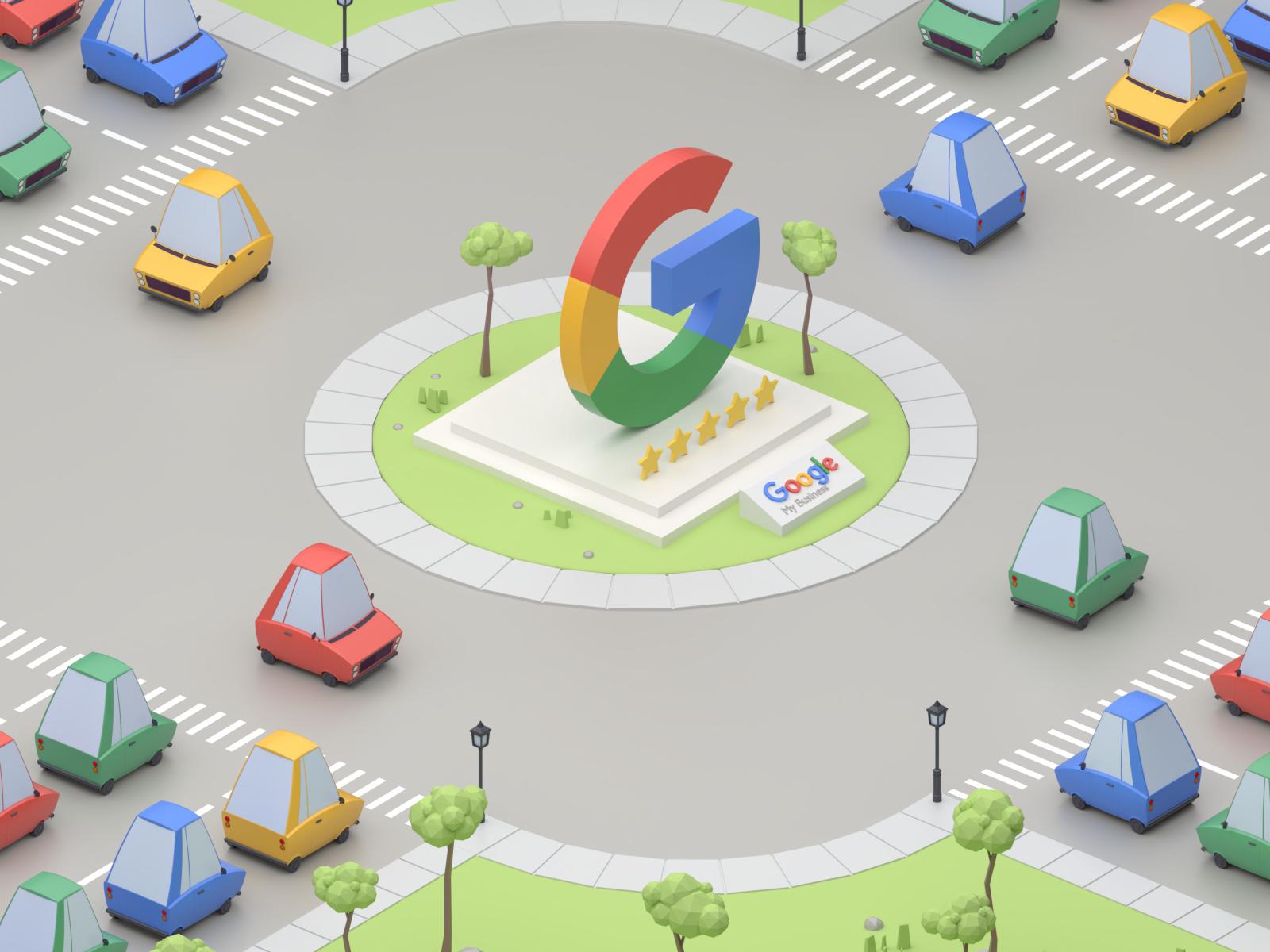 hoog ranken op google als architect of aannemer