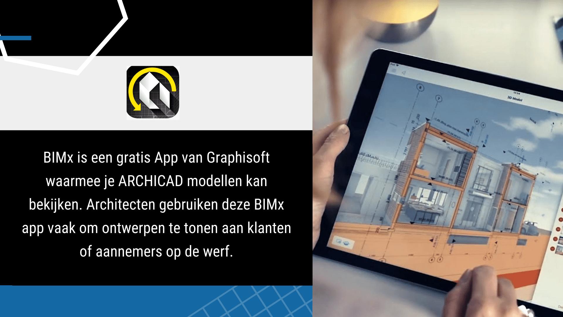 17 Eenvoudige Gratis Apps voor de Bouw - BimX | ArchiSnapper