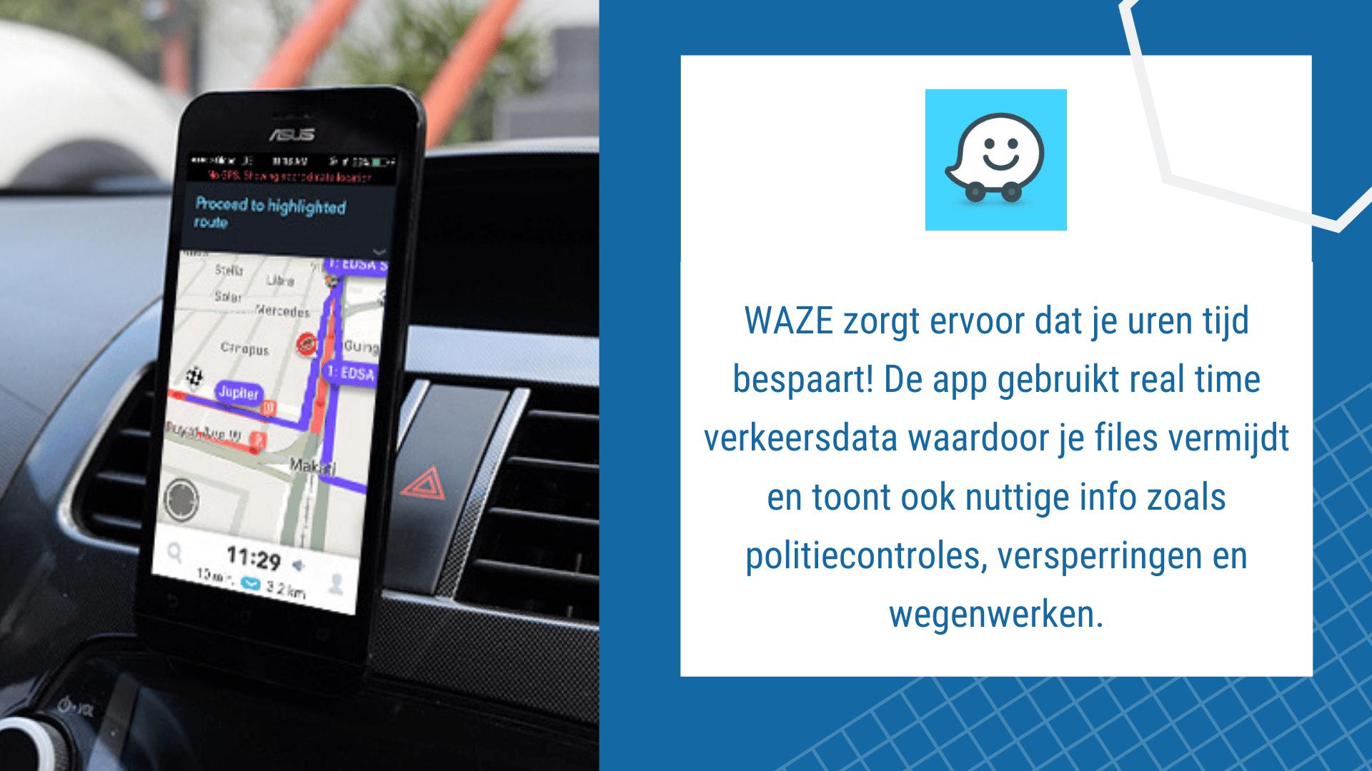 17 Eenvoudige Gratis Apps voor de Bouw - Waze | ArchiSnapper