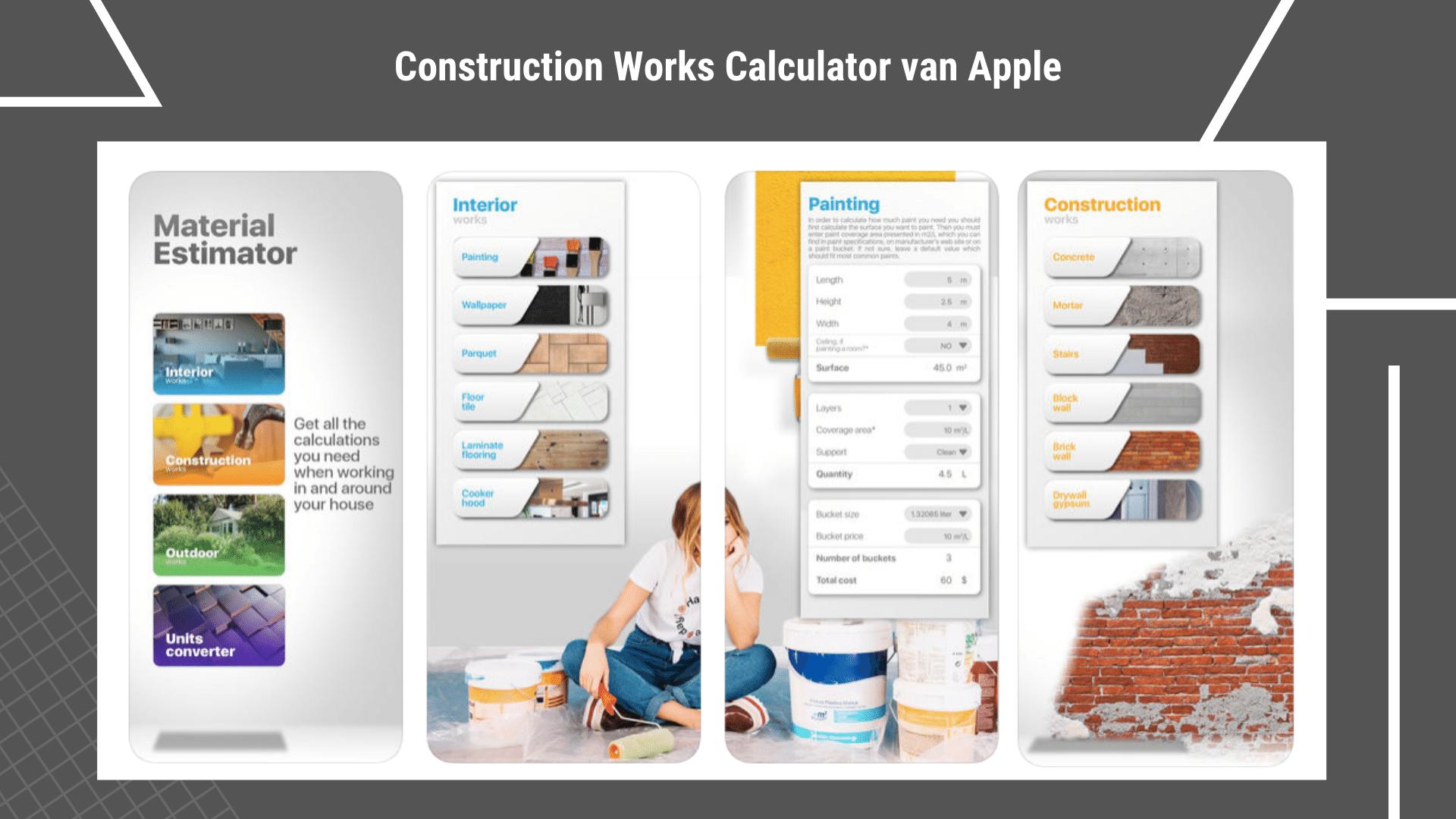17 Eenvoudige Gratis Apps voor de Bouw - Construction Works | ArchiSnapper