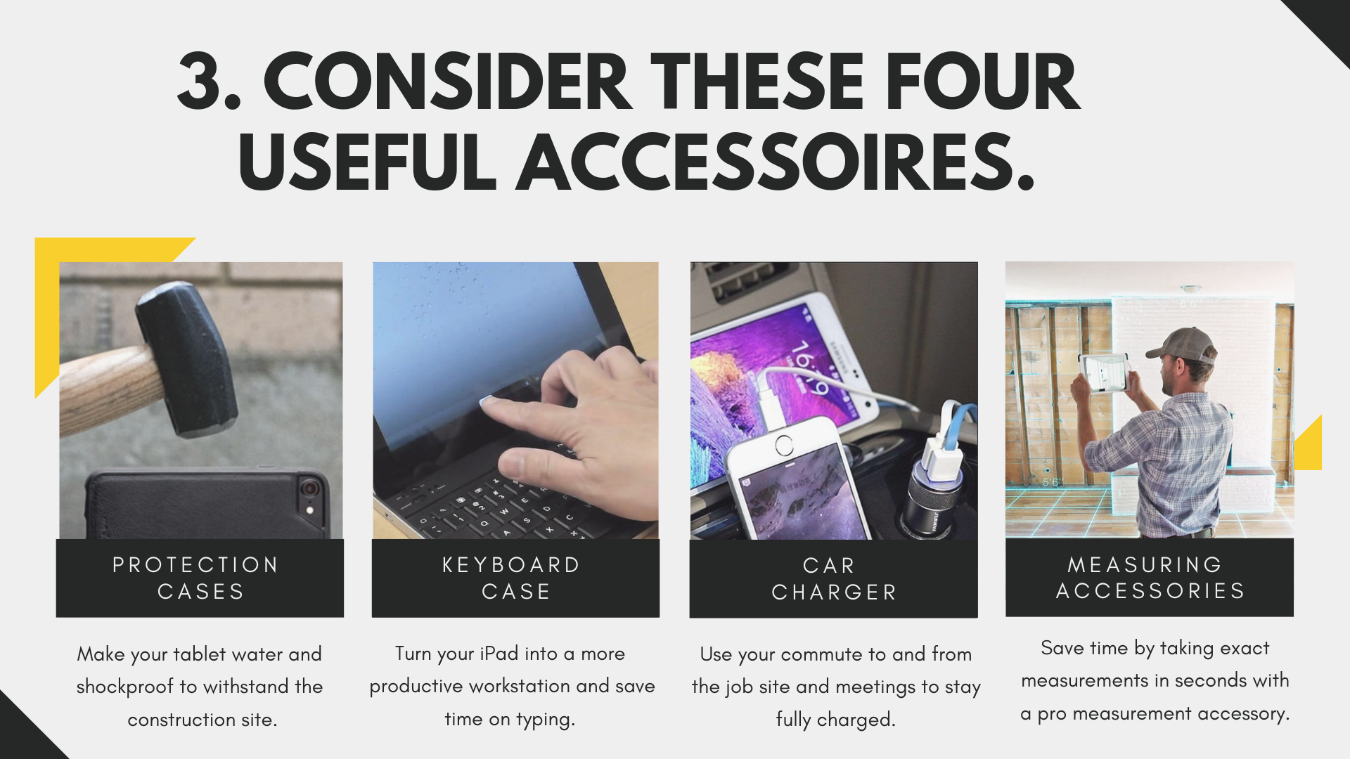 consider these 4 useful accessoires via archisnapper