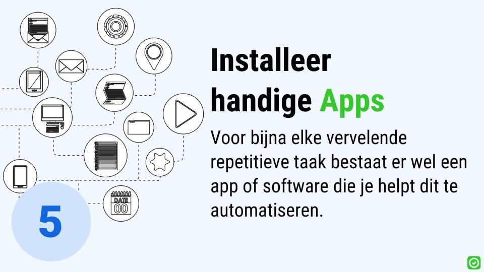 digitale werf - handige apps voor in de bouw