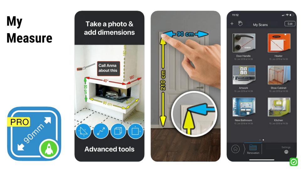 my measure ios apps voor de bouw