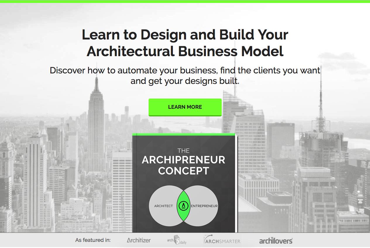 Boek Archipreneur Concept   ArchiSnapper