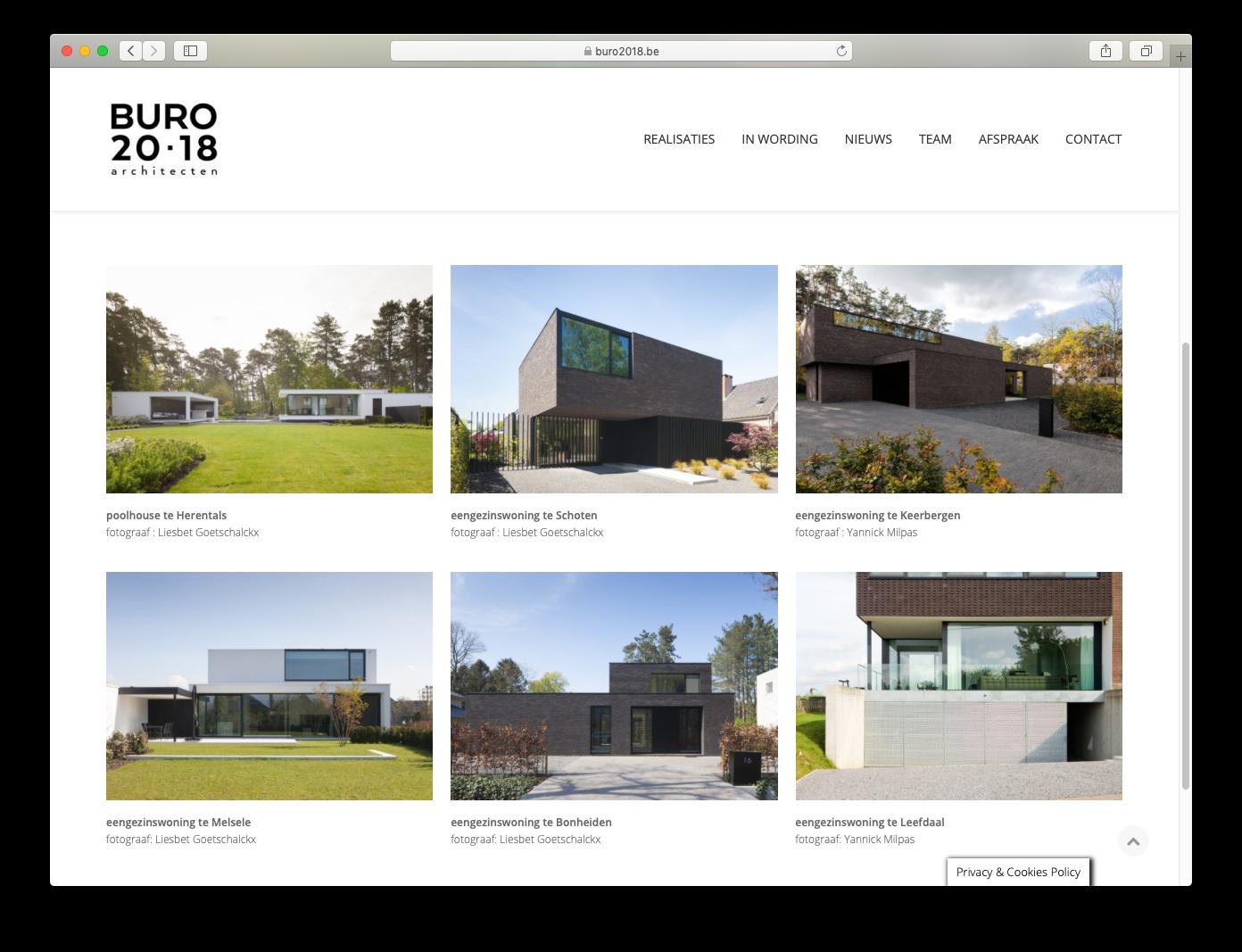Buro 2018 | ArchiSnapper
