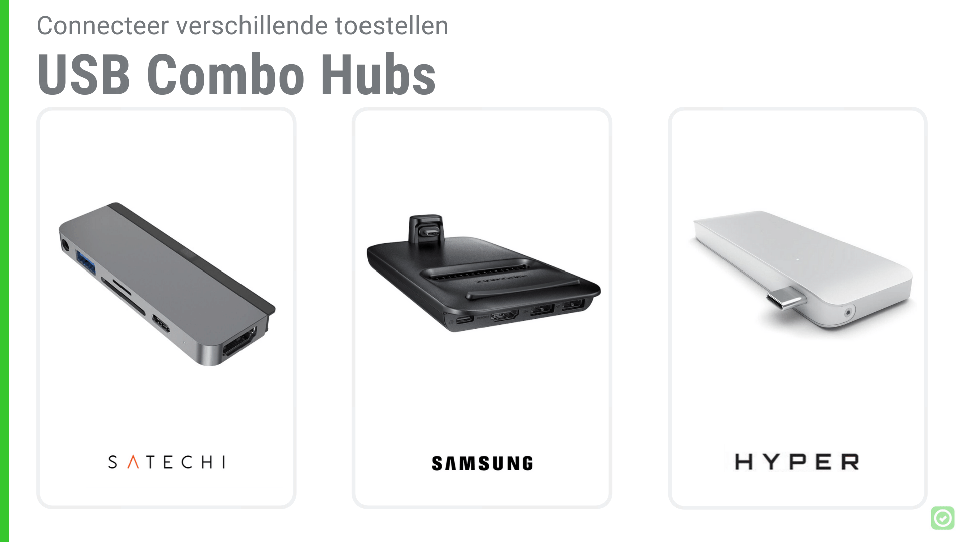 14 Onmisbare tools voor Architecten - USB combo hubs | ArchiSnapper