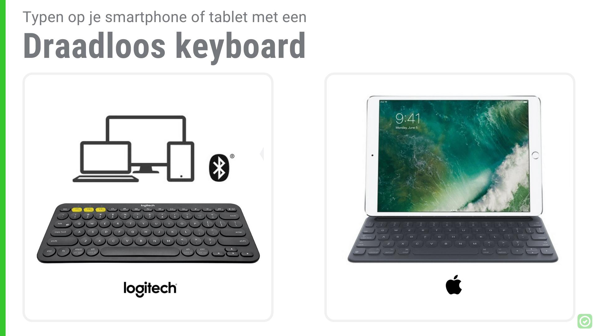 14 Onmisbare tools voor Architecten - Draadloos keyboard voor Smartphone/Tablet | ArchiSnapper