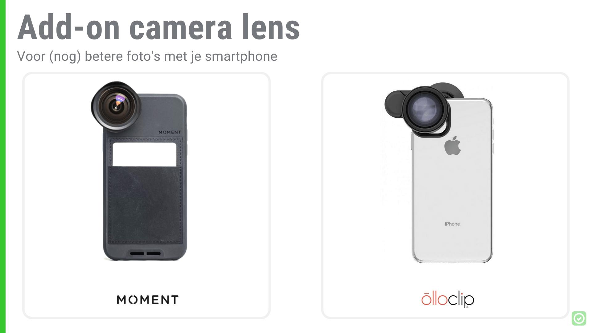 14 Onmisbare tools voor Architecten - Add-on Camera Lens en flits om de belichting te verbeteren | ArchiSnapper