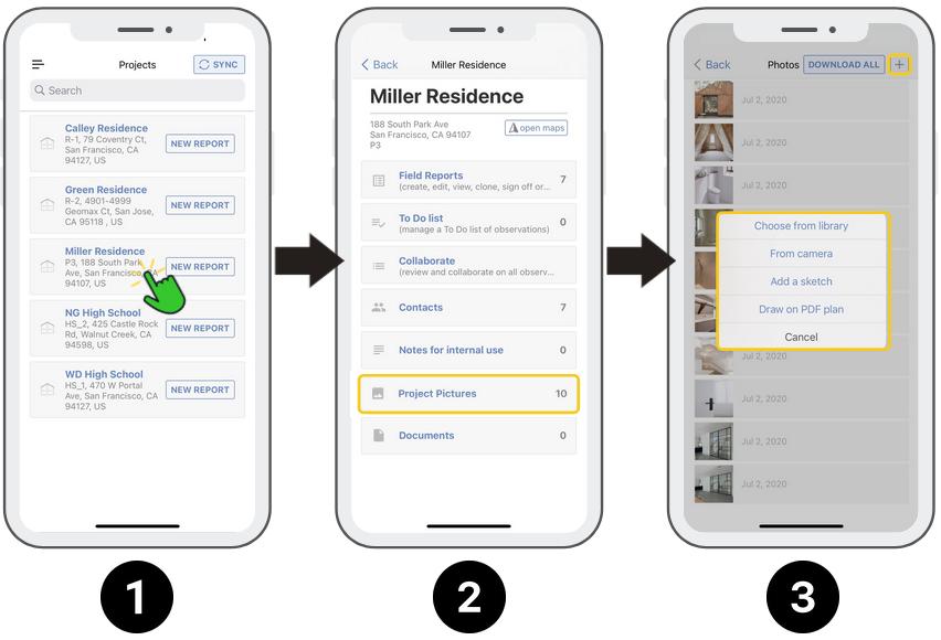 ArchiSnapper l app voor werfopvolging en foto's
