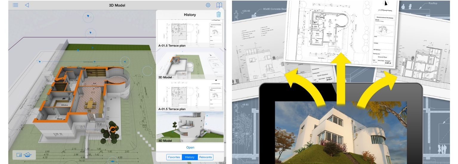 BIMx - iPad screenshot | ArchiSnapper Blog