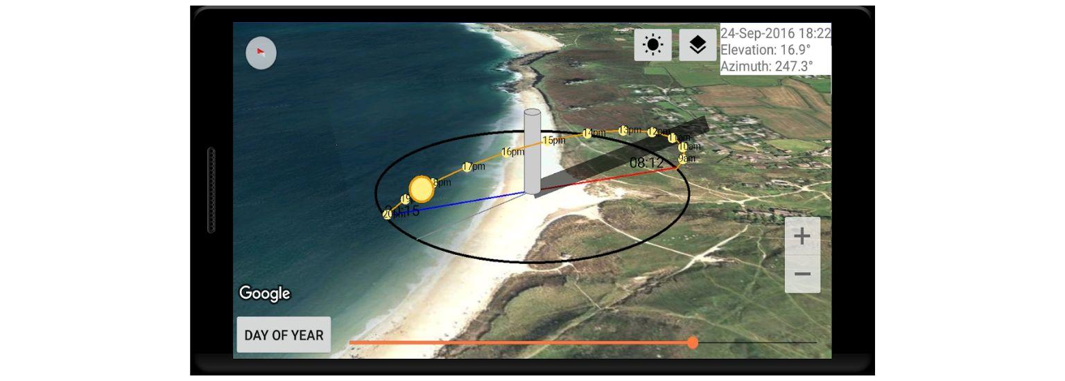 Sun Locator- screenshot | ArchiSnapper Blog