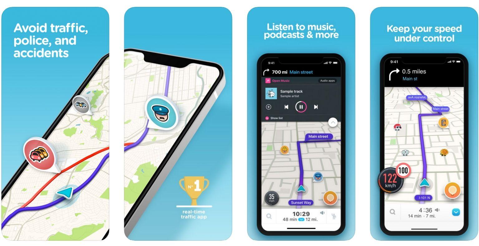 Waze - screenshot | ArchiSnapper Blog