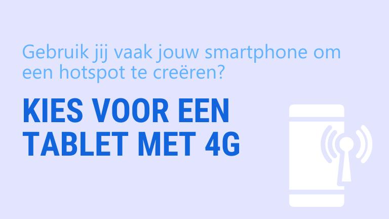 heb je een 4G tablet nodig | ArchiSnapper blog