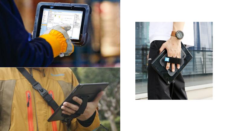 accessoires voor tablet in de bouw