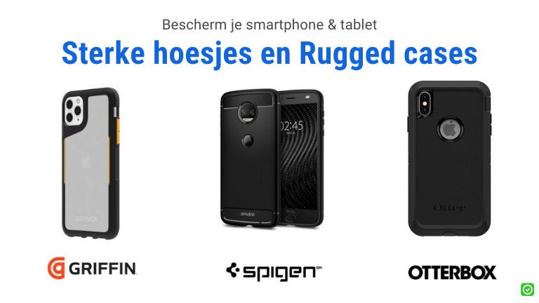 bescherm je tablet of smartphone op de werf met een sterke hoes