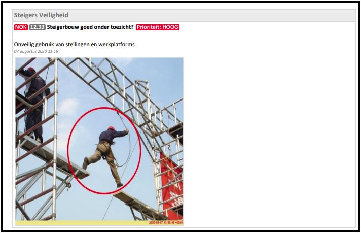 safetysnapper app voor checklist inspecties