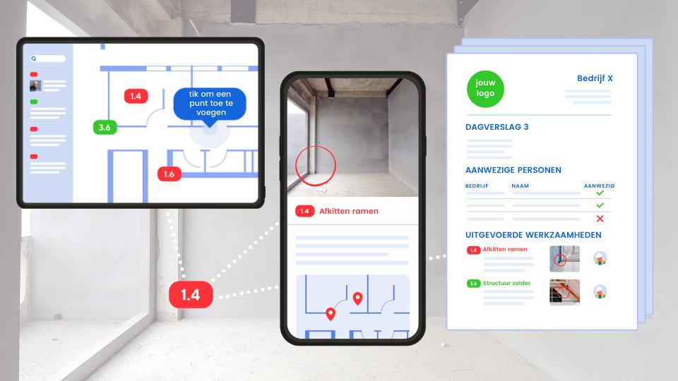Digitale werf; Dagverslagen opstellen met je smartphone of tablet