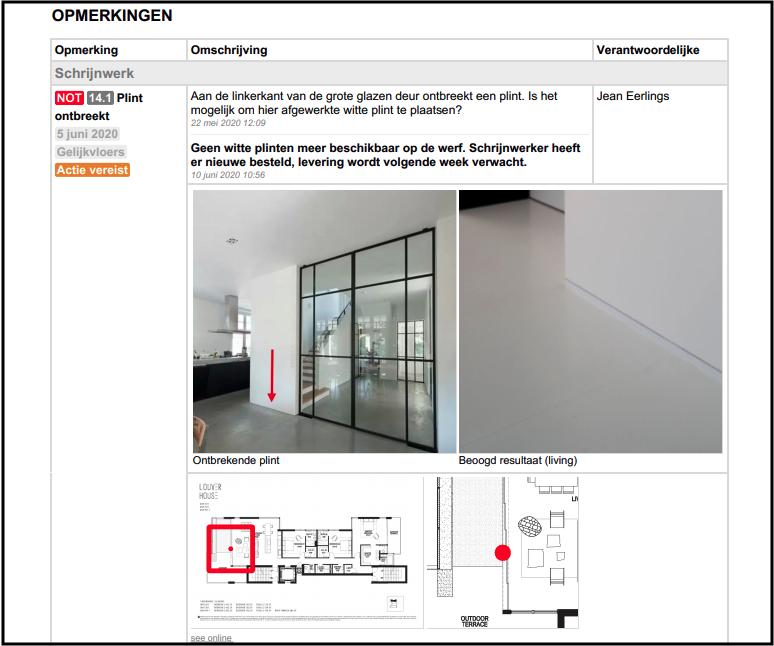 ArchiSnapper app voor werfverslagen voor architecten
