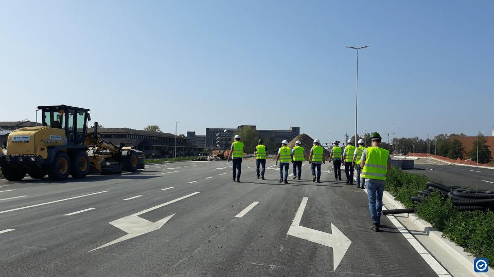macobo team aan de slag tijdens een safetysnapper opleiding