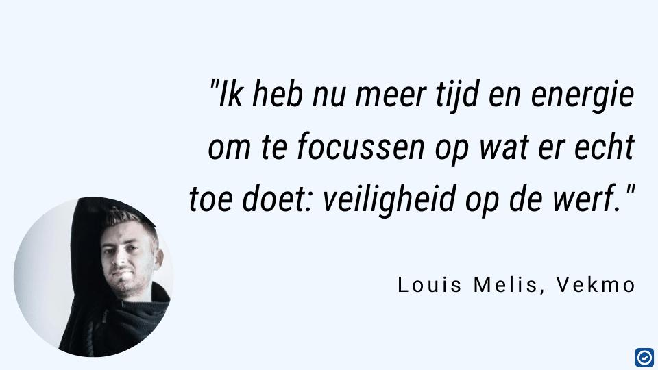 meer tijd voor veiligheid op de werf met SafetySnapper - Louis Melis Vekmo Macobo Stabo