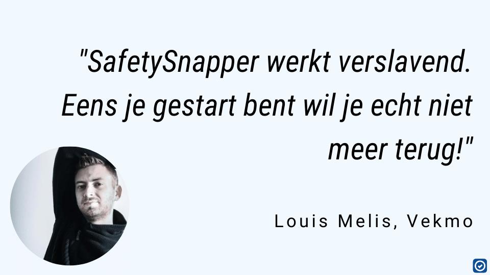 veiligheidscoordinatie SafetySnapper werkt verslavend Louis Melis macobo stabo vekmo
