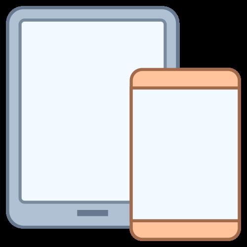 smartphone of tablet op de werf gebruiken