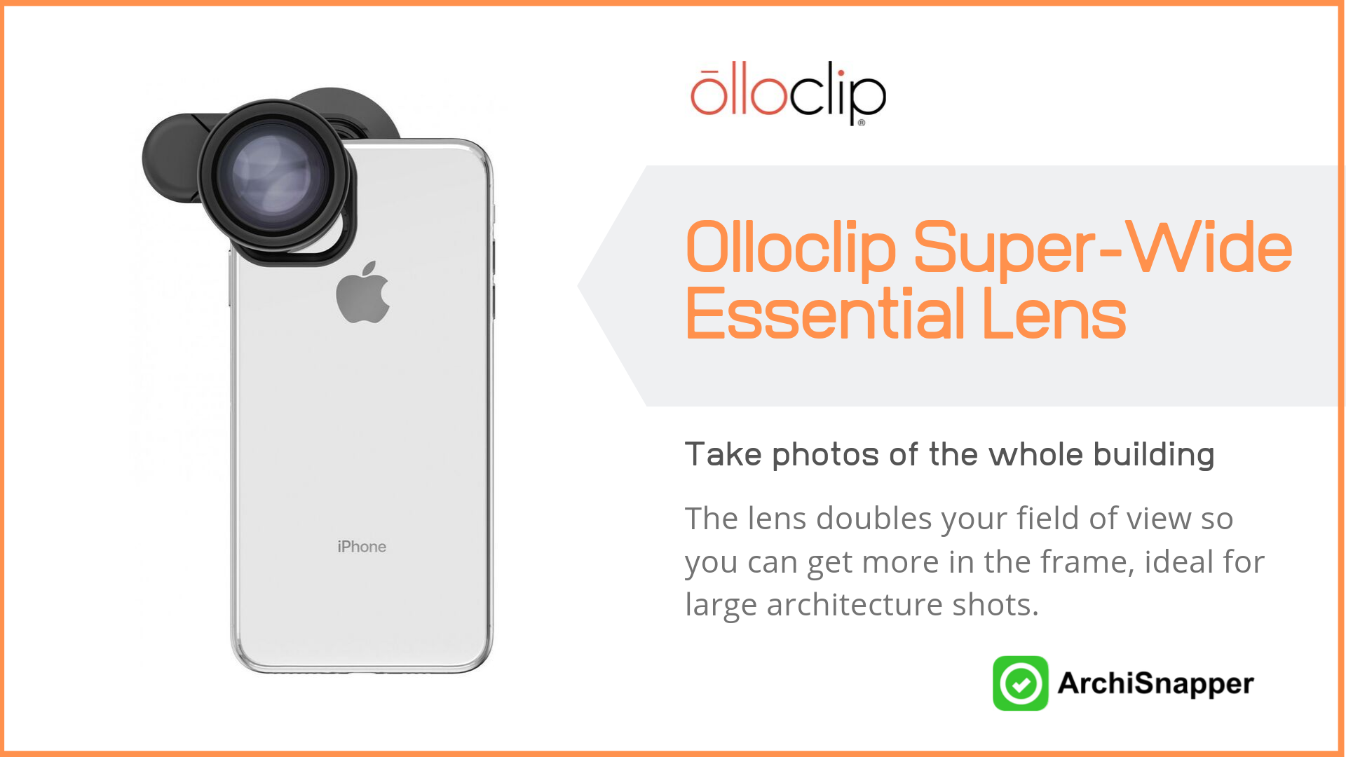 Olloclip Super-Wide Essential Lens