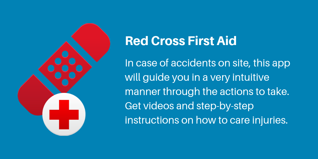 10 Red Cross Frist Aid | Archisnapper Presents the Best Apps for Contractors 2019