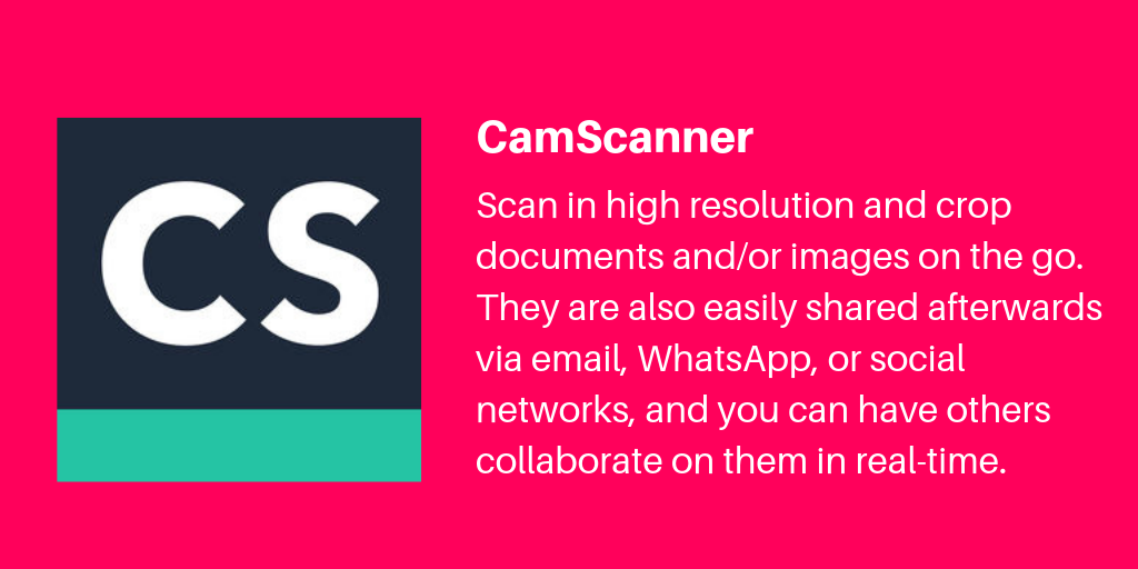 12 CamScanner | Archisnapper Presents the Best Apps for Contractors 2019