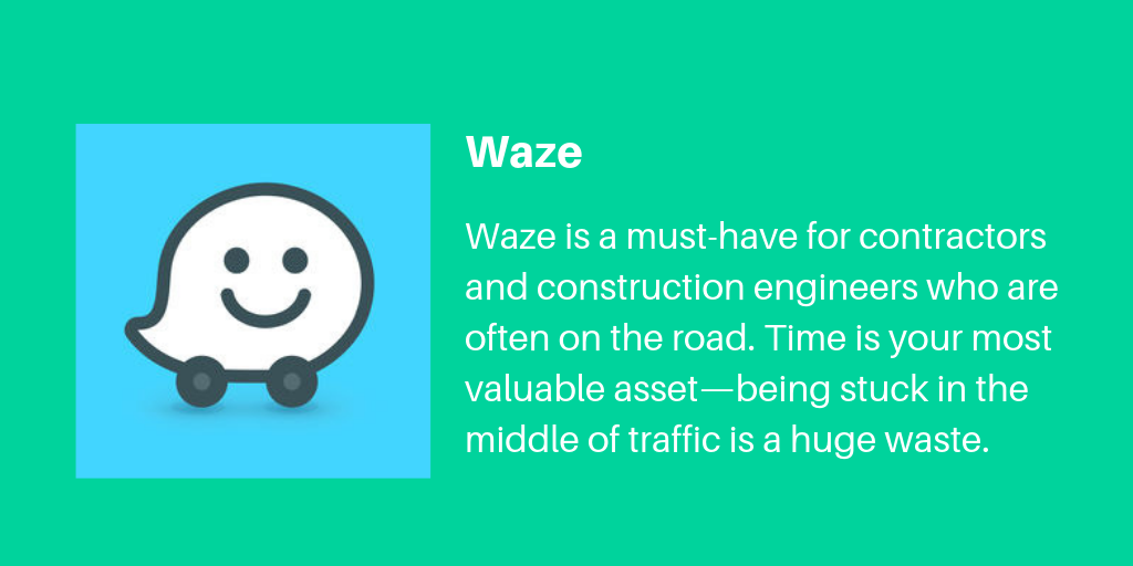 13 Waze | Archisnapper Presents the Best Apps for Contractors 2019