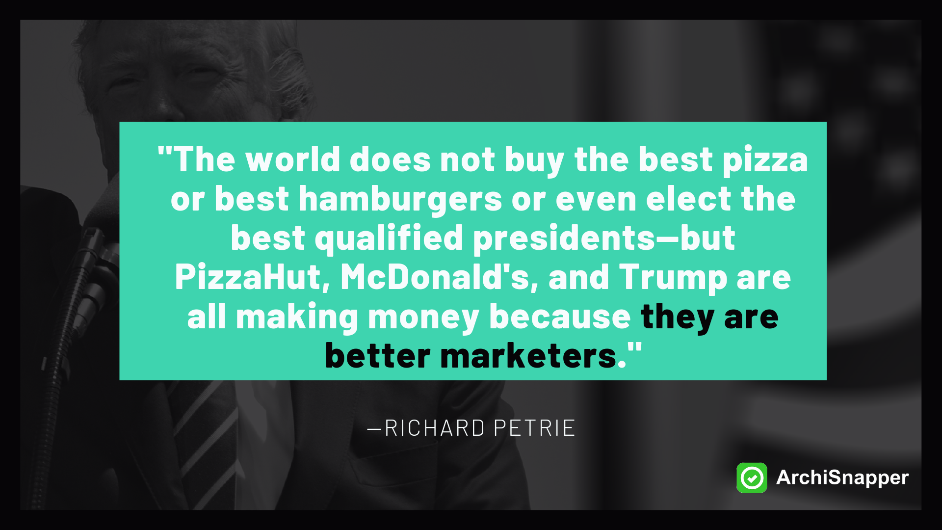 Richard Petrie on Marketing for architects   Archisnapper