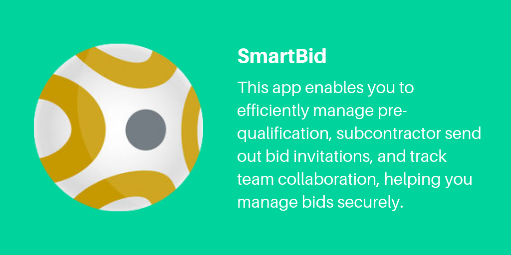 4 SmartBid | Archisnapper Presents the Best Apps for Contractors 2019