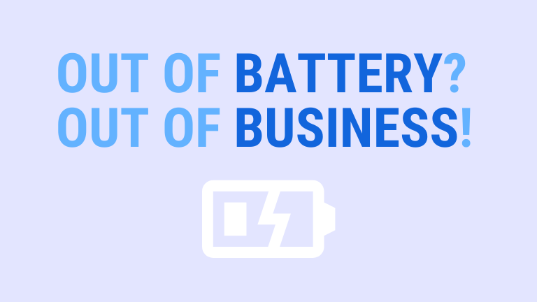 out of battery = out of business | ArchiSnapper Blog