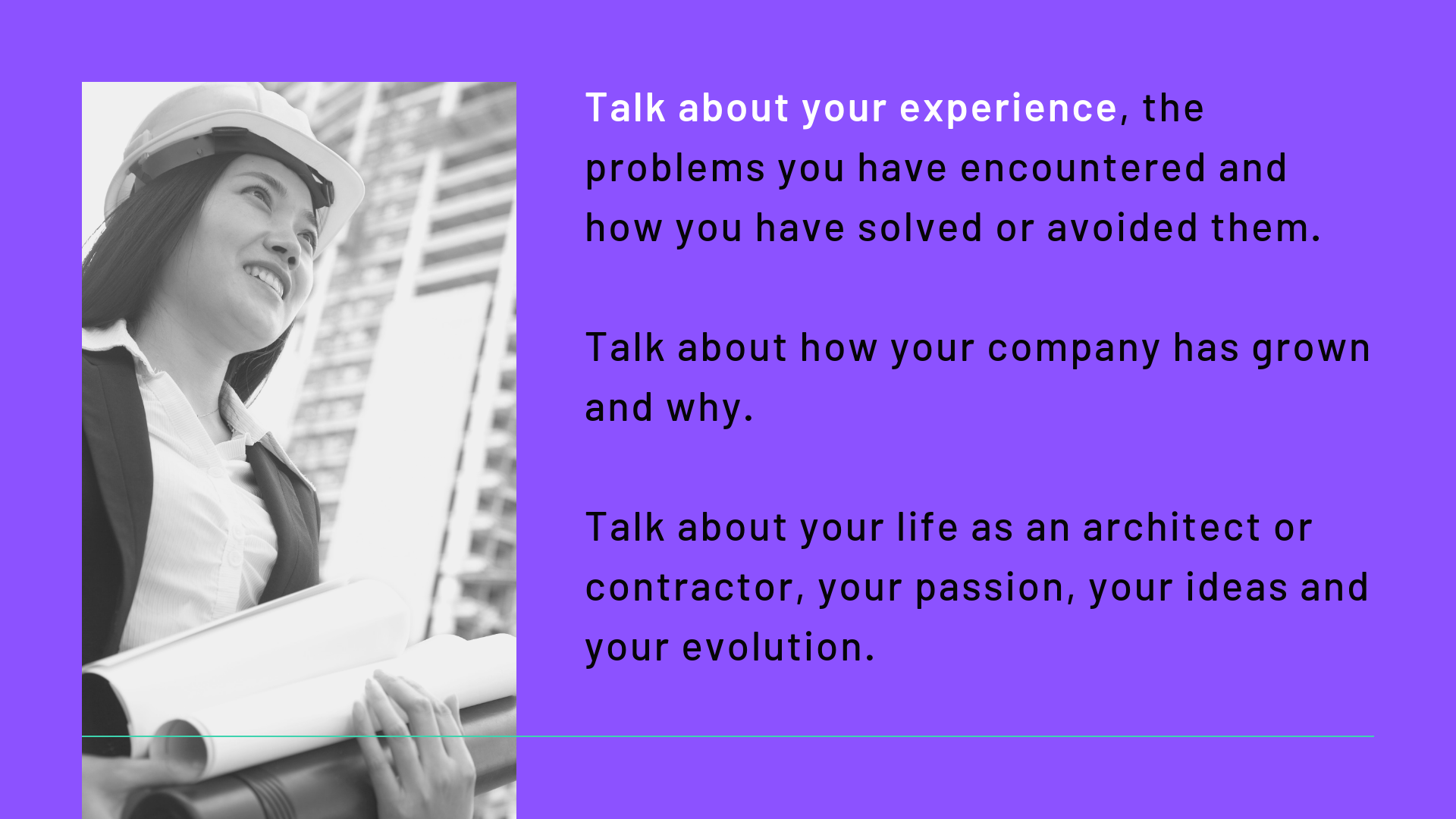 Not sure what to write about? Talk about your experiences   Archisnapper