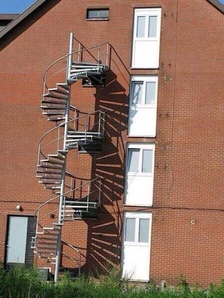 Anyone need a step by step tutorial on how use follow a design | Archisnapper presents 20 hilarious staircase building fails